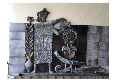 Jean DERVAL - Keramiken - Fontaine