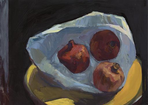 Eric BARI - Painting - 3 grenades