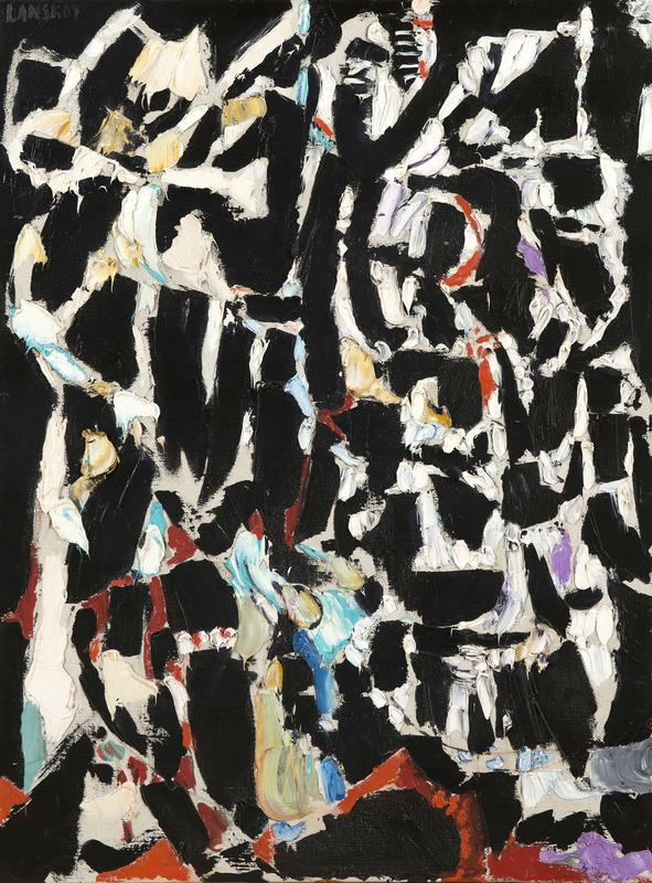 André LANSKOY - Pintura - La soumission