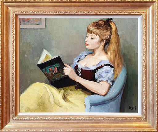 Marcel DYF - Peinture - Claudine Reading
