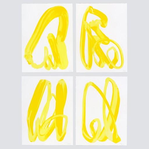 SMASH 137 - Stampa-Multiplo - Yellow Hand