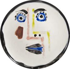 Pablo PICASSO - Céramique - Visage n°192