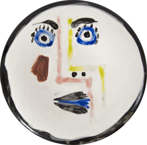 Pablo PICASSO - Ceramic - Visage n°192