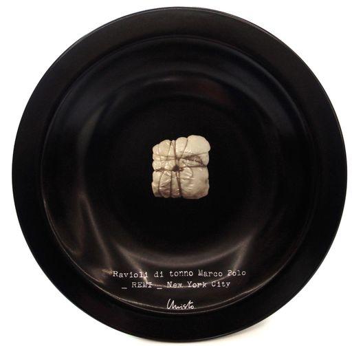 CHRISTO - Ceramic - Ravioli di tonno Marco Polo _ REMI _ New York City