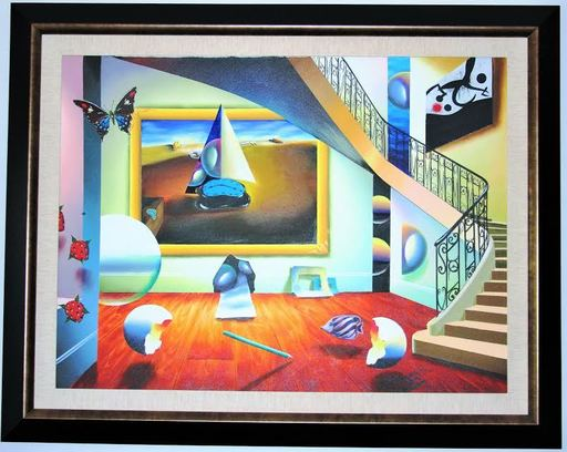 FERJO - Painting - Staircase