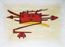 Wifredo LAM - Estampe-Multiple - El ultimo viaje del buque fantasma-6