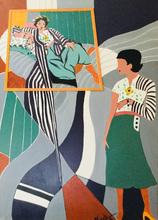 Brigitte THONHAUSER-MERK - Pintura - Dialog mit Matisse