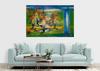 Romeo DOBROTA - Painting - Hanging Semiramida Gardens,