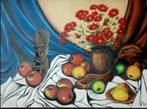 Steven KLUCHIK - Painting - Dios del Amor