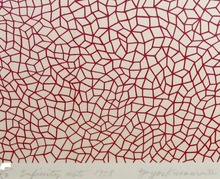 Yayoi KUSAMA - Estampe-Multiple - Infinity Nets 1958