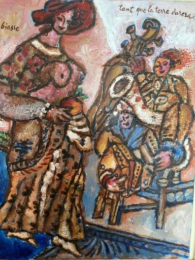 Théo TOBIASSE - Gemälde - Tant que la terre durera