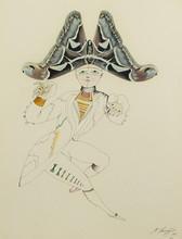 Mikhail CHEMIAKIN - Painting - Character from Hoffman's 'Undina'