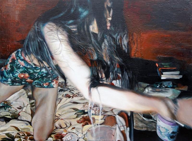 Sophie BOKSER - Painting - Bulgun