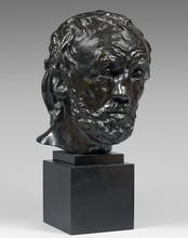 Auguste RODIN - Sculpture-Volume - L'homme au nez cassé