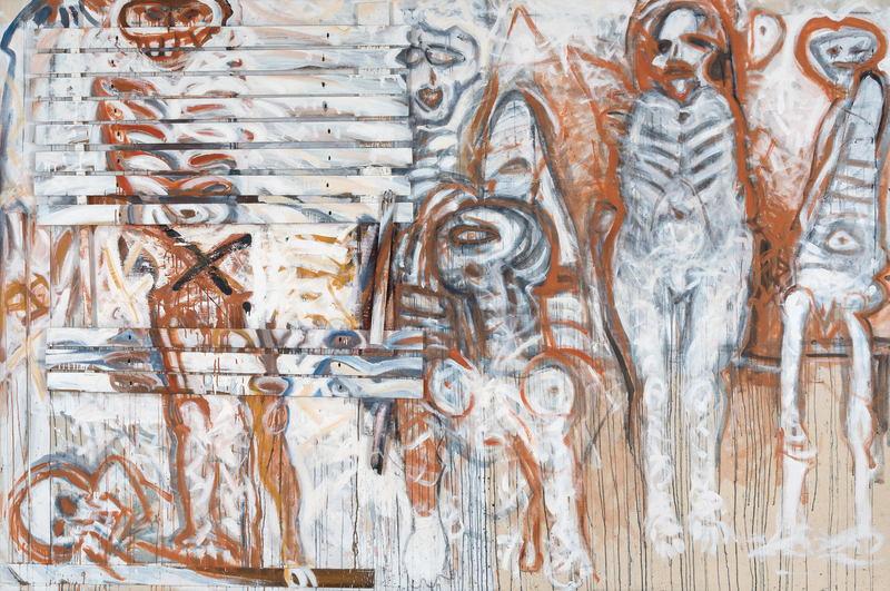 Adolf FROHNER - Painting - Der Lamellentod