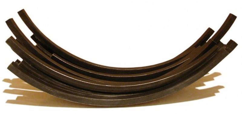Bernar VENET - Print-Multiple - Arcs in Disorder 83.5 degree arc x 14
