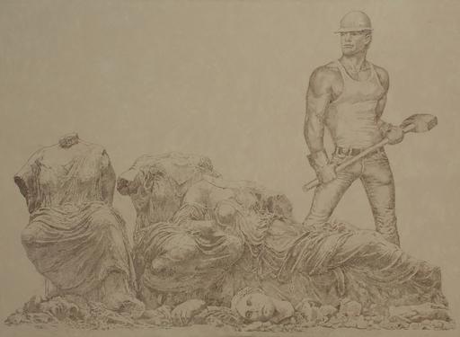 Vladimir KOLESNIKOV - Painting - Tom