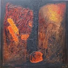Patrick Victor DOPPAGNE - Peinture - Polaroïd Wake Up