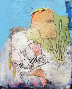 MONSIEUR JAMIN - Painting -  Première leçon