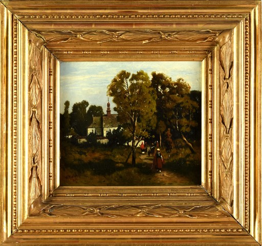 Wladyslaw MALECKI - Gemälde - Sunday