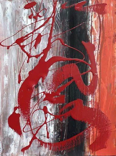 Marie Edmée SEGUIN - Painting - D'où vient le vent n°40