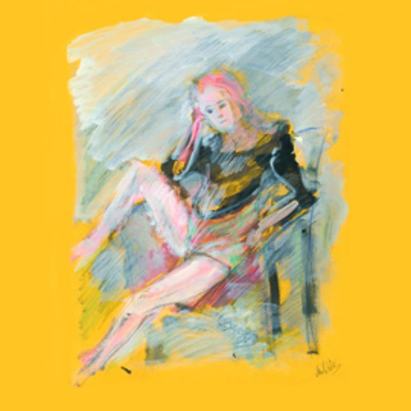 Zvi MILSHTEIN - 绘画 - Martine