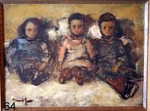 Nicolae TONITZA - Painting - DOLLS