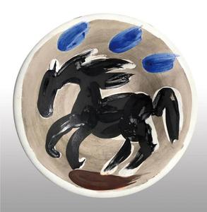 Pablo PICASSO - Ceramic - Petit cheval