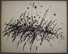 Jacques GERMAIN - Drawing-Watercolor - Composition JG 03 65
