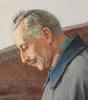 """Theodor ZASCHE - Drawing-Watercolor - Theodor Zasche (1862-1922) """"Wilhelm II"""", ca.1915"""
