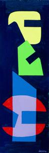 Augusto GARAU - Gemälde - Senza titolo