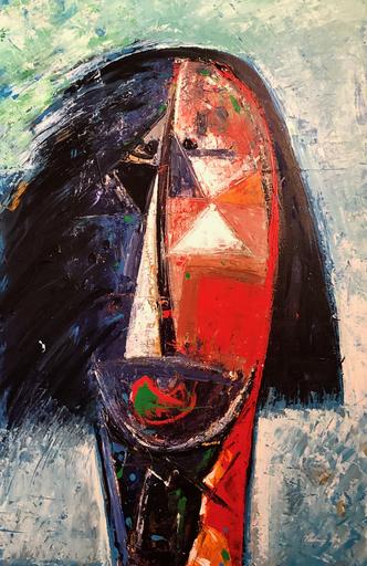 Vladimir CORA - Pintura - Cabeza II