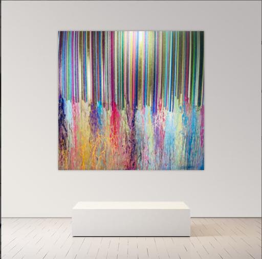 Alexandra BERNARDINI - Gemälde - 185x200cm Celebration of Life 2