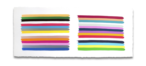 Jessica SNOW - Painting - Color Stacks Plural 4
