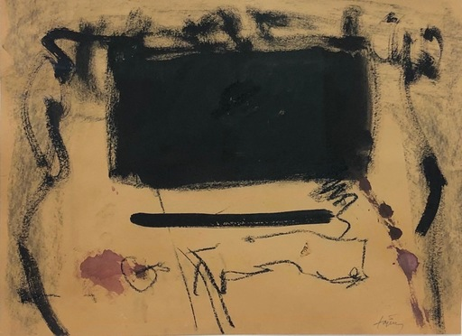 Antoni TAPIES - Pittura - Untitled