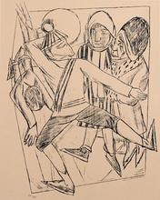 Max BECKMANN (1884-1950) - Der Schlittschuhläufer