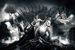 Ludovic BARON - Fotografia - Eve et ses courtisans // VENDU