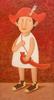 Roman ANTONOV - Painting - Boy with sabre