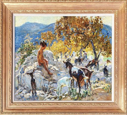 Dorothea SHARP - Painting - Playful Companions