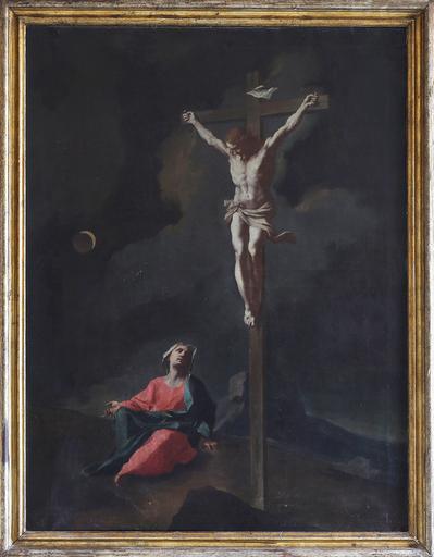 Giuseppe Antonio PETRINI - Pintura - Crocifissione