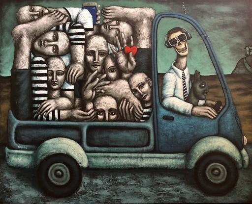 Nicolas MONJO - Painting - Première classe