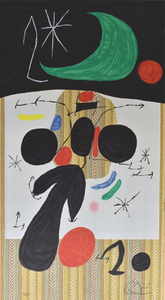 Joan MIRO - Estampe-Multiple - Interior and Night | Intérieur et nuit