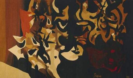 Mario PRASSINOS - Tapestry - Troïlus et Cressida