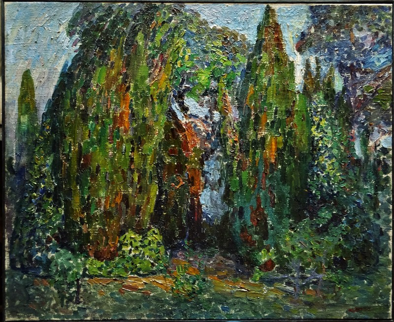Augustin CARRERA - Painting - Forêt ou jungle Fauve, circa 1912/1915
