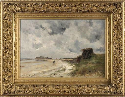 Marie Joseph Léon IWILL - 绘画 - La Hague