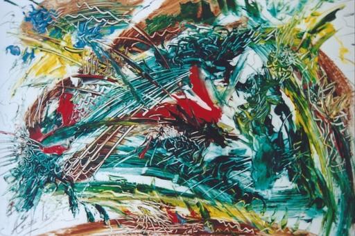 Didier ANGELS - Peinture - Le verger