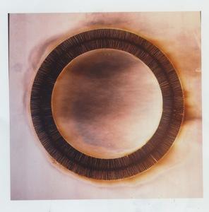 Bernard AUBERTIN - Sculpture-Volume - Disegno di fuoco circolare