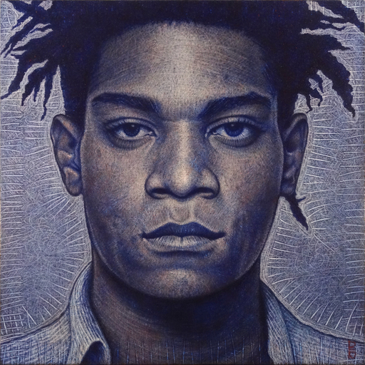 DEN GUITTO - Pittura - FACE à FACE avec JM BASQUIAT
