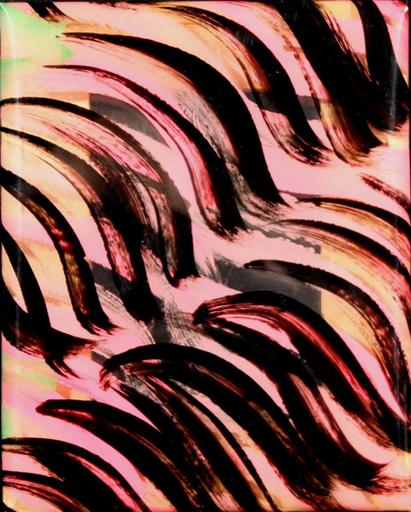 Carla ACCARDI - Pintura - Rosa verde nero