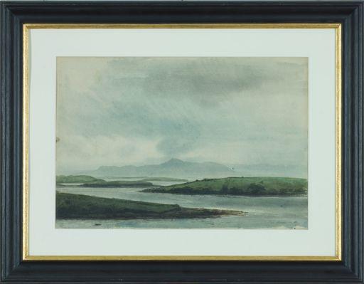 Pietro ANNIGONI - Drawing-Watercolor - Senza titolo